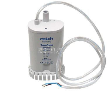 REICH 12 Volt Tauchpumpe - Powerpumpe Twin