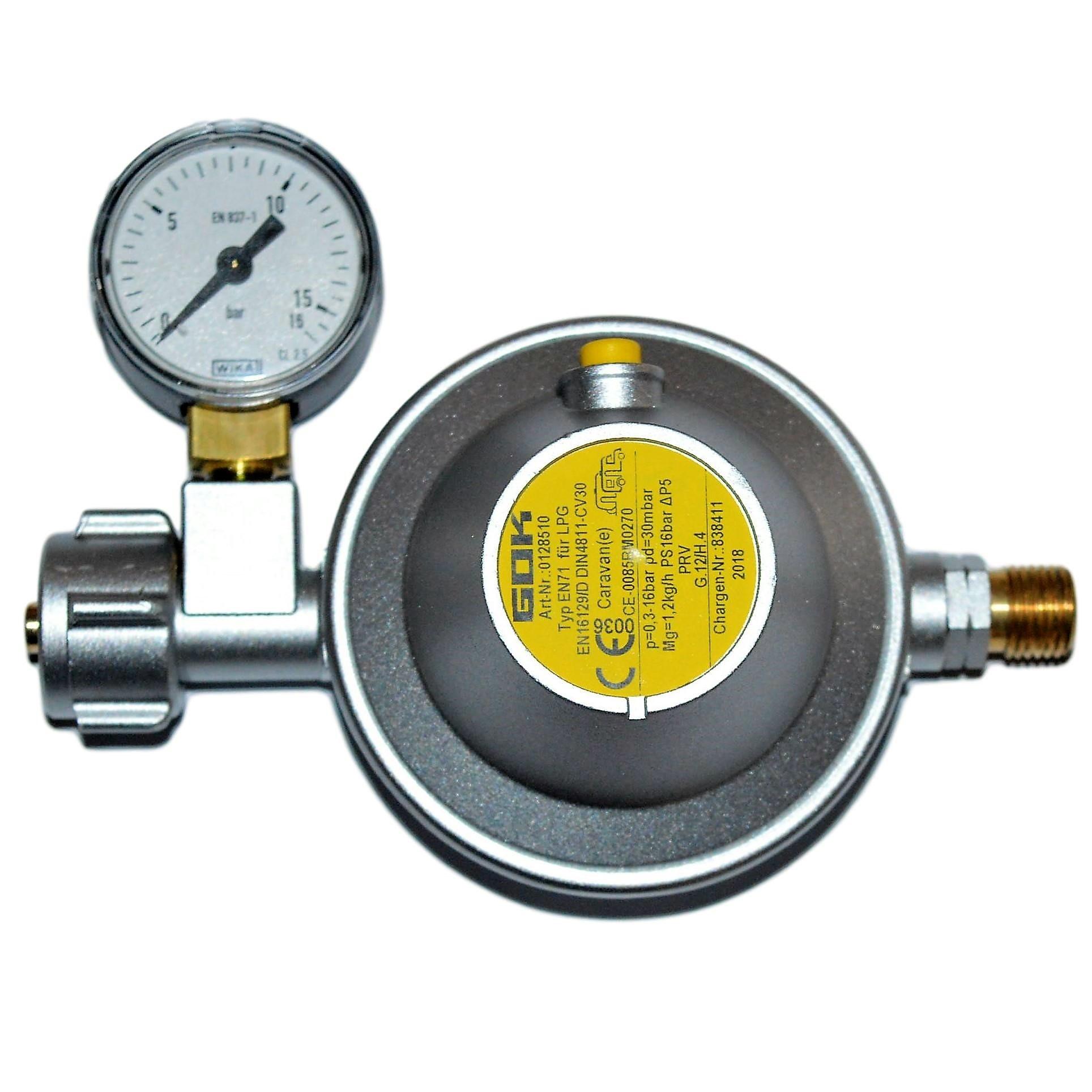 GOK Gasregler 0,8kg/h Nenndurchfluss