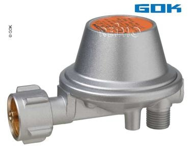 GOK Gasdruckregler 0,8kg/h Nenndurchfluss, 50mbar