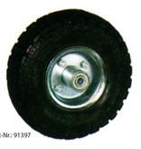 CARBEST Laufrad - Luft mit Stahlfelge - bis 150kg