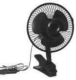 CARBEST Ventilator 12 Volt, oszillierend mit Klammerhalterung