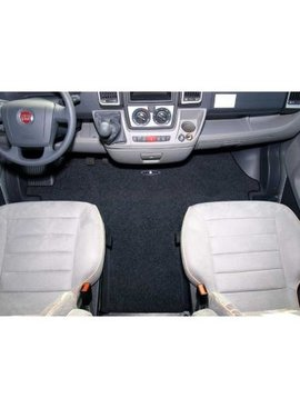 CARBEST Fahrerhausmatte Basic - Nadelvliesteppich