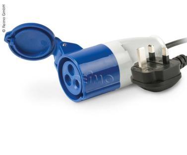 CARBEST Adapterkabel - Stecker GB auf CEE-Kupplung