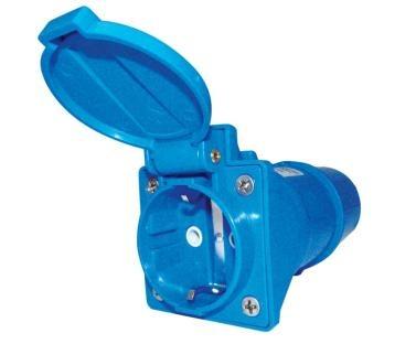 CARBEST Kurzadapter CEE- Stecker/Schukokupplung