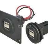 PROCAR Einbau USB Doppelsteckdose
