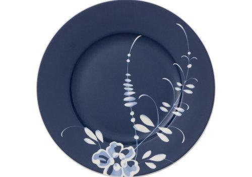 Villeroy & Boch Dessertbord 21 cm blauw Vieux Luxembourg Brindilles