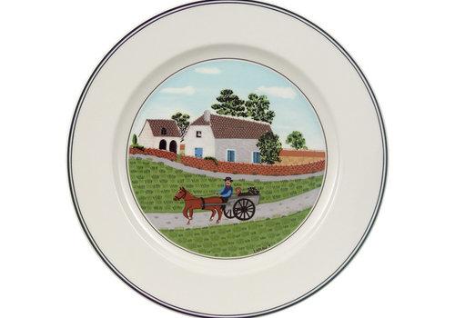 Villeroy & Boch Dessertbord Design Naif (motief Boer)
