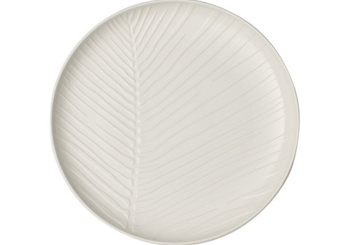 Villeroy & Boch Plat bord Leaf It's my match - wit