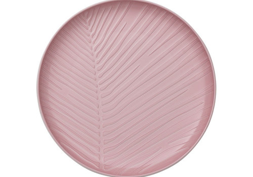 Villeroy & Boch Plat bord Leaf It's my match - Powder roze