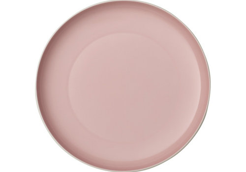 Villeroy & Boch Plat bord effen It's my Match - Powder roze