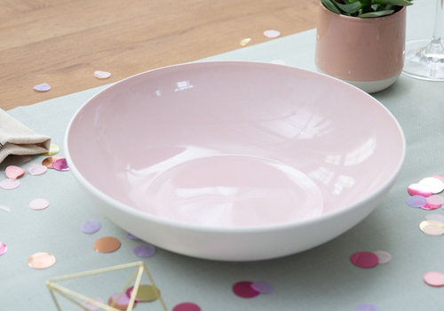 Villeroy & Boch Serveerschaal effen It's my match - Powder roze