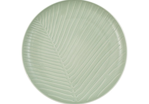 Villeroy & Boch Plat bord Leaf It's my match - Mineral lichtgroen