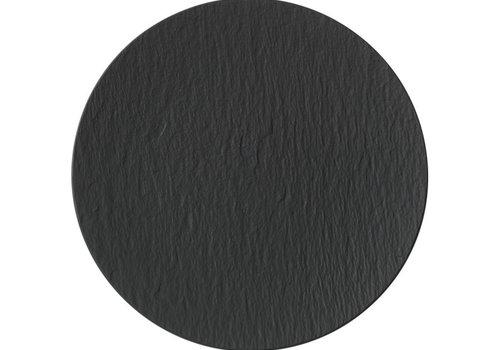 Villeroy & Boch Gourmetbord  / Plaatsbord Manufacture Rock zwart