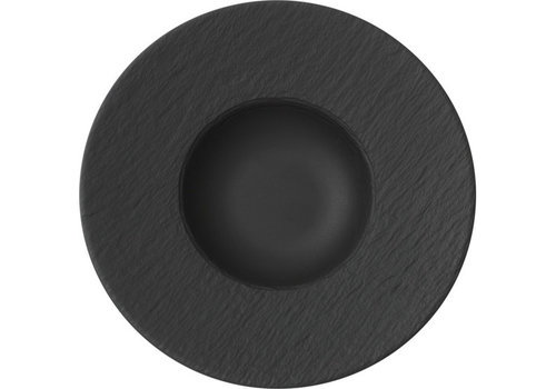 Villeroy & Boch Pastabord Manufacture Rock zwart