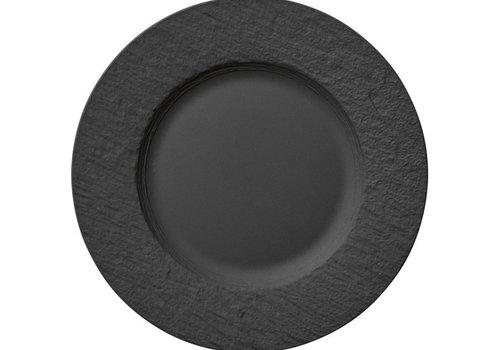 Villeroy & Boch Plat bord Manufacture Rock zwart