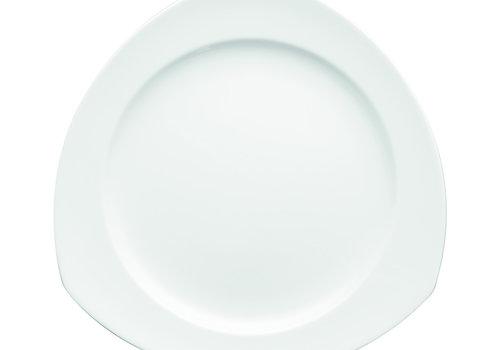Thomas Dessertbord Vario wit driehoekig 22 cm