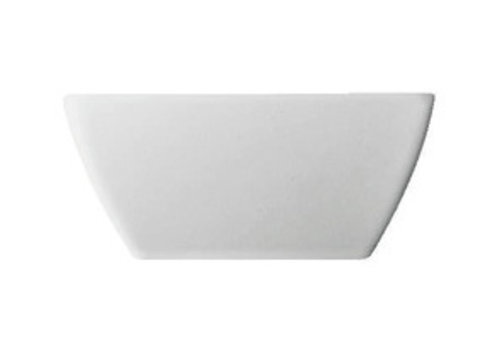 Thomas Kommetje / Bowl Loft vierkantdiep  wit 15 cm