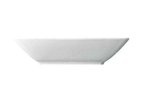 Thomas Diep bord Loft vierkant wit 22 cm