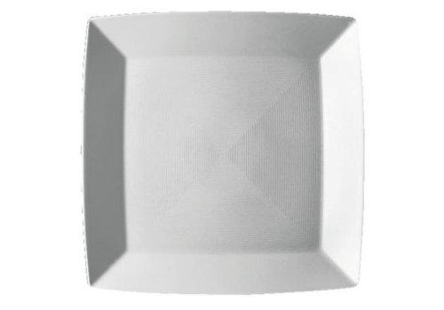 Thomas Plat bord Loft vierkant wit 27 cm