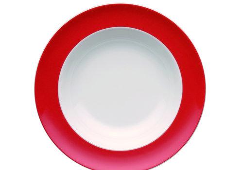 Thomas Diep bord Sunny Day New Red  23 cm