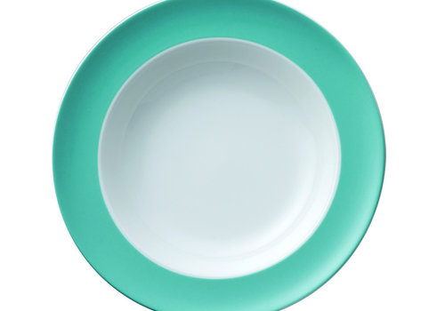 Thomas Diep bord Sunny Day Turquoise 23 cm