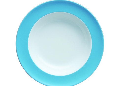 Thomas Diep bord Sunny Day Waterblue 23 cm