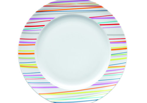 Thomas Plat bord Sunny Day Stripes  27 cm