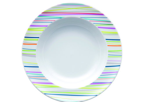 Thomas Diep bord Sunny Day Stripes 23 cm