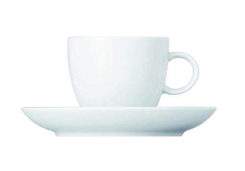 Thomas Espressokop en schotel Sunny Day wit ( Amici )