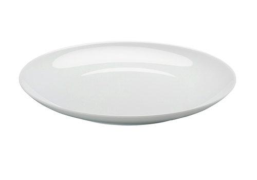 Arzberg Plat bord Cucina wit 26 cm coupevorm