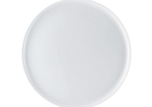 Arzberg Pizzabord of taartschotel Cuchina wit 31 cm