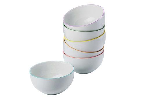 Arzberg Bowlset / Mueslibowlset Cucina Colori 6 stuks