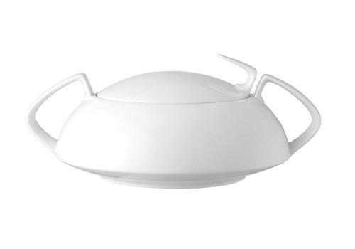 Rosenthal Groentekom met deksel / Dekschaal TAC wit 1,6 L