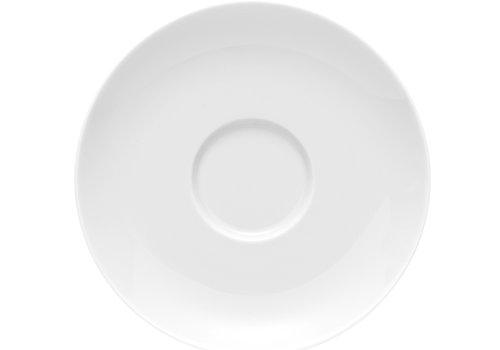 Rosenthal Schotel / Ondertas voor koffiekop Moon wit 14.5 cm