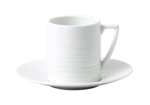 Wedgwood Epressokop / Mokkakop Jasper Conran Strata white