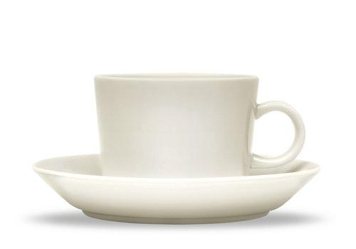 Iittala Schotel / Ondertas voor koffiekop Teema wit 15 cm