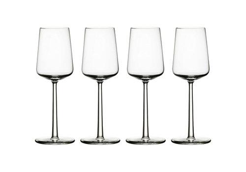 Iittala Set 4 witte wijnglazen Essence