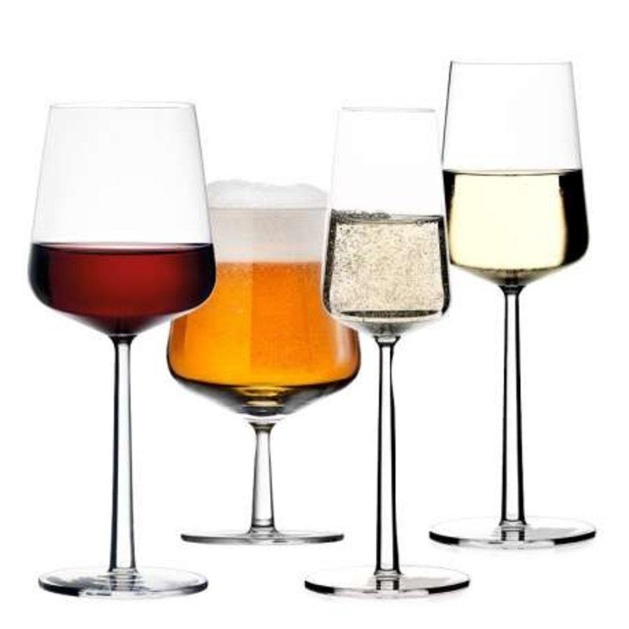 Set 4 witte wijnglazen Essence-2