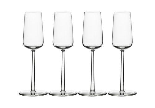 Iittala Set van 4 champagneglazen Essence