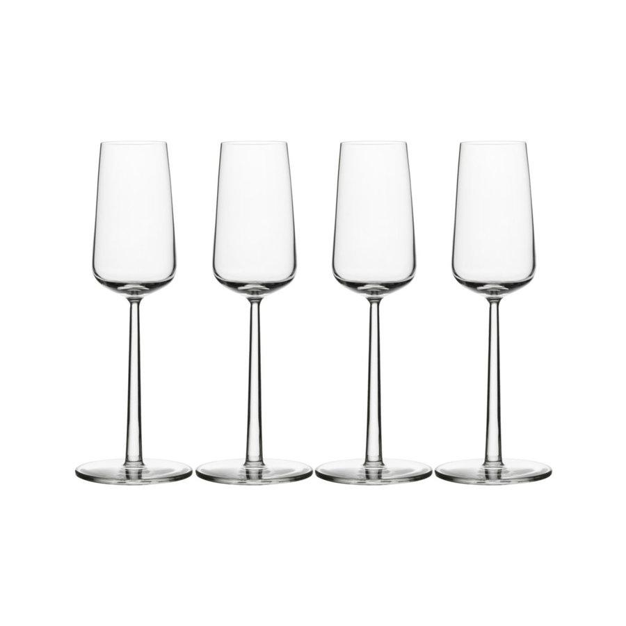 Set van 4 champagneglazen Essence-1