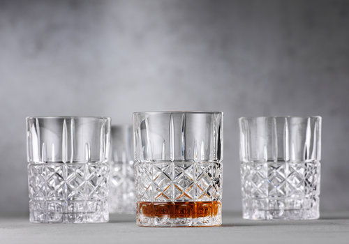Spiegelau Set van 4 lage bekers / whiskybekers Elegance