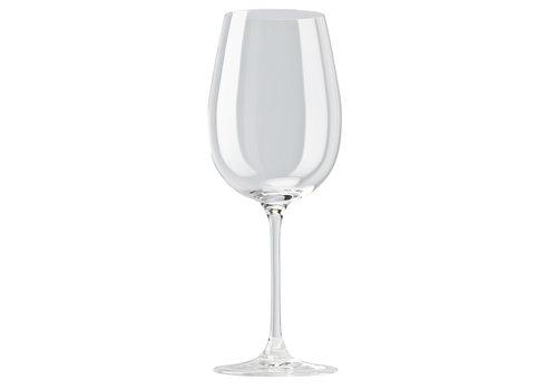 Rosenthal Set 6 rode wijnglazen / bordeauxglazen diVino 58 cl