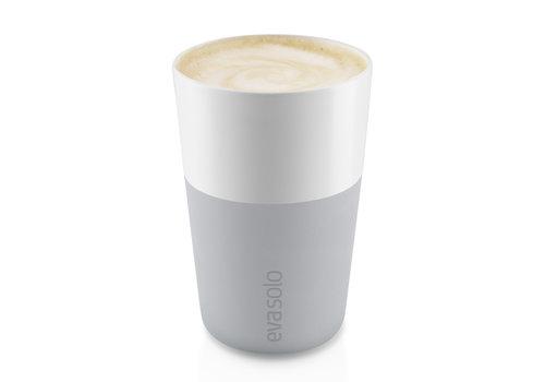 Eva Solo Set van 2 café au lait bekers 36 cl marble grey