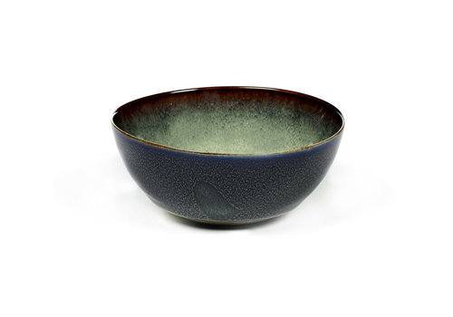 Serax Bowl / Bol Anita Le Grelle 10,8 cm Misty Grey / Dark Blue B5116125