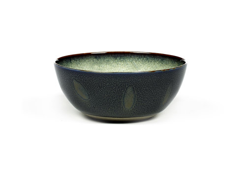 Serax Bowl / Bol Anita Le Grelle 13,7 cm Misty Grey / Dark Blue  B5116128