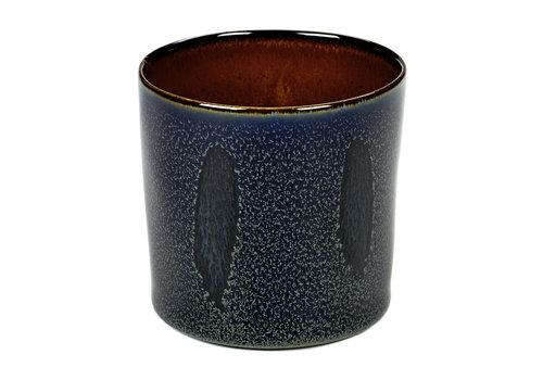 Serax Beker hoog cyl.  Anita Le Grelle Dark Blue / Rust 23 cl  B5116108
