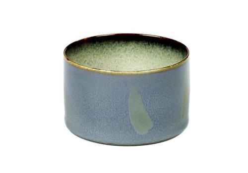Serax Beker laag cyl.  Anita Le Grelle Smokey Blue / Beige 16 cl B5116101