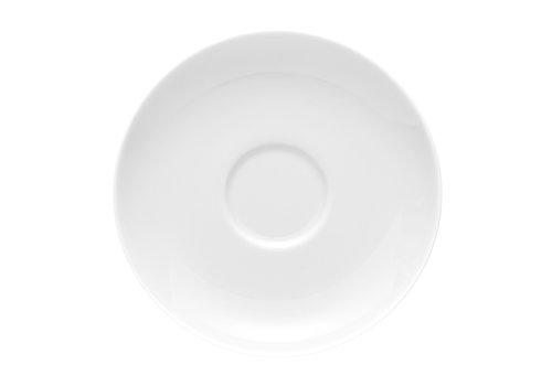 Rosenthal Schotel / Ondertas voor theekop Moon wit 14.5 cm