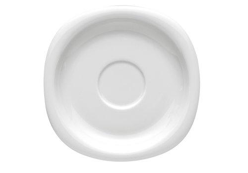 Rosenthal Schotel / Ondertas koffiekop of theekop Suomi wit 16,5 cm