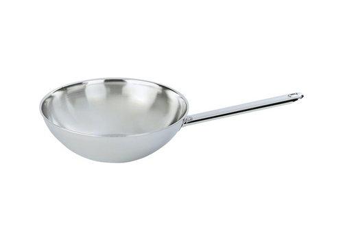 Demeyere Wok met steel 30 cm